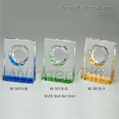 水晶獎牌-W3015