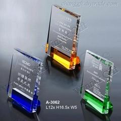 水晶獎牌-A3062