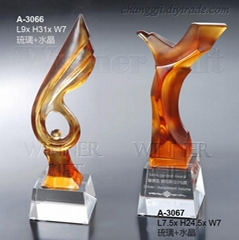 Crysatl Trophy-A3066/A30