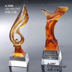 Crysatl Trophy-A3066/A3067
