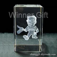 3D Laser Crystal / W-58b
