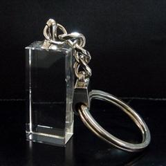 水晶钥匙圈