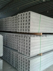 Material for light partition board