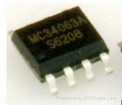 电源控制芯片MC34063 1A 1.2A 1.5A 全新原