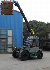 吊车 起重机 叉车 正面吊 装卸粮食化肥