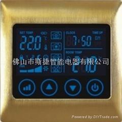 IVOR世捷 智能开关-风机盘管温控器(空调控制器)