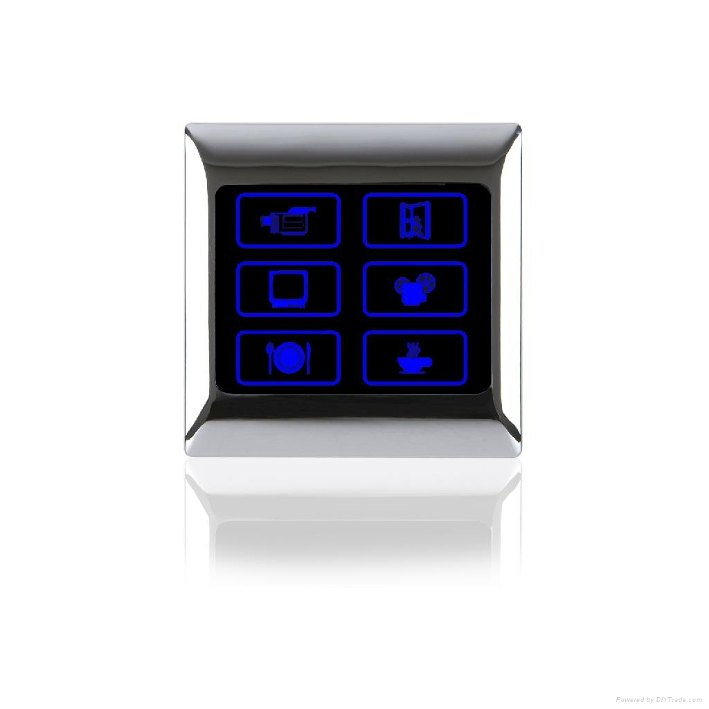 IVOR 86底盒 联网灯控触摸屏开关 家居中控 3