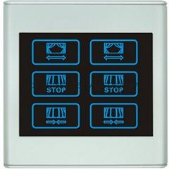 智能開關-窗帘控制面板
