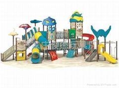 石家莊幼儿園玩具 組合滑梯