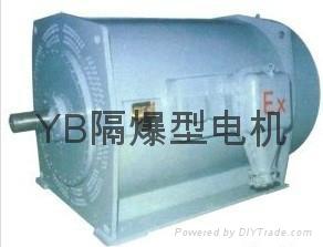 重庆煤矿化工厂用YB隔爆型电机 1