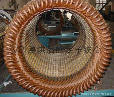 重庆修理电机绕组采用真空压力浸漆行业领先 3
