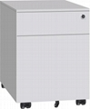 Two drawers vertical filing cabinet
