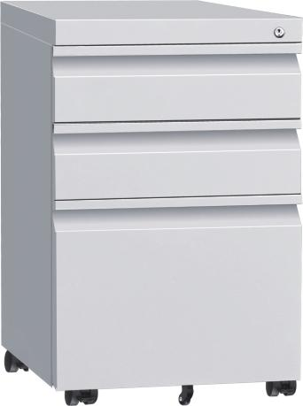 Two drawers vertical filing cabinet 3