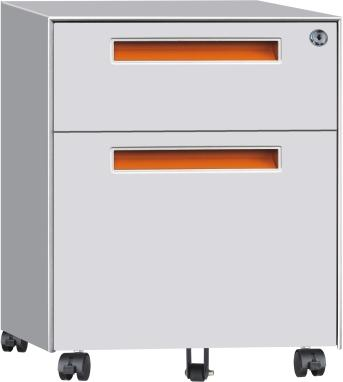 Two drawers vertical filing cabinet 4