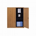 Wooden color cabinet 8