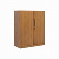 Wooden color cabinet 9