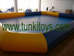 Inflatable Pool Swimming Pool Air Pool Pvc Pool Bumper Pool
