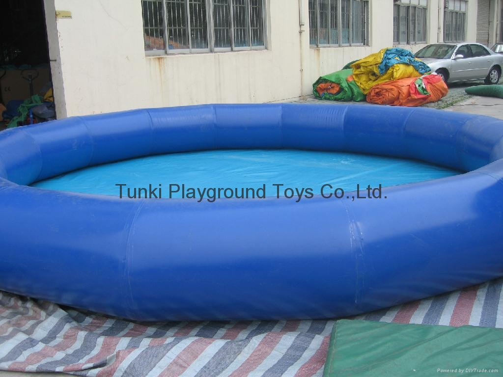 Inflatable Pool Swimming Pool Air Pool Pvc Pool Bumper