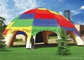 Inflatable tent advertising tent pvc