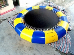 infatable water bouncer trampoline