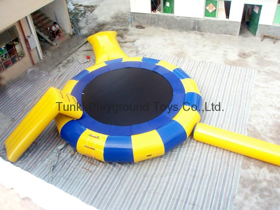 infatable water bouncer trampoline 2