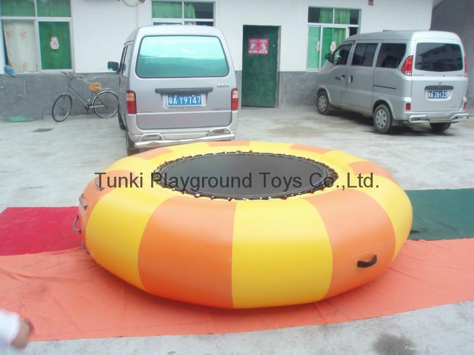 infatable water bouncer trampoline 4