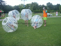 kids body zorb ball inflatable bubble soccer