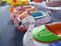 children inflatable electric bumper boat