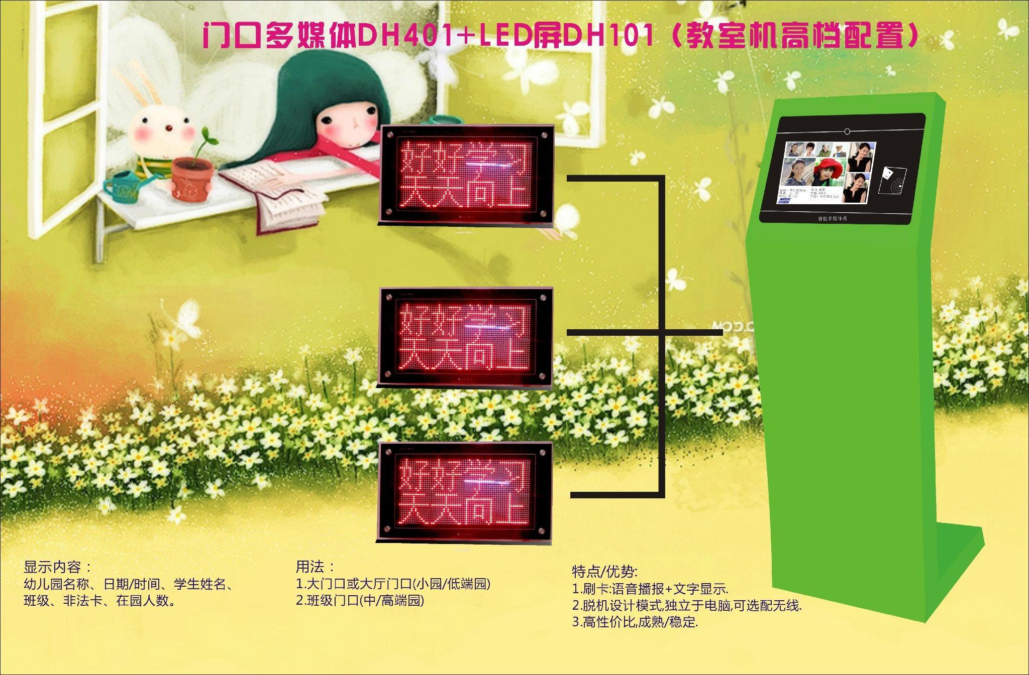幼儿園教室機分區呼叫系統(LED屏顯示) 1