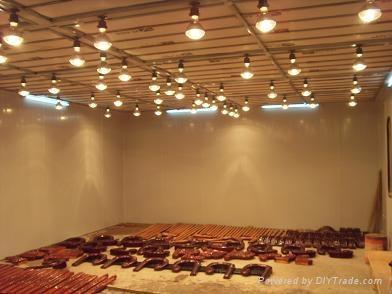 浙江電加熱傢具噴漆烤漆房 1