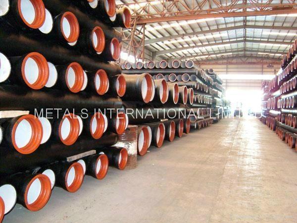 ISO 2531,BS EN545,EN598,BS4772,AS/NZS 2280,AWWA C110.2,KSD4307 Ductile Iron Pipe 2