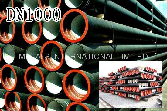 ISO 2531,BS EN545,EN598,BS4772,AS/NZS 2280,AWWA C110.2,KSD4307 Ductile Iron Pipe 4