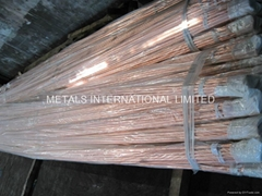 ASTM B111 C12200,C44300,C68700, C70600,Copper Heat Exchanger Tube