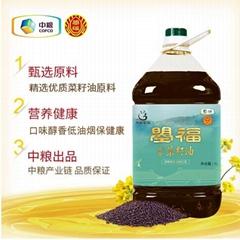 中糧曌福醇香菜籽油