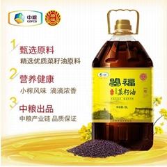 中粮曌福小榨浓香菜籽油