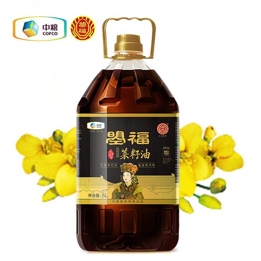 中粮曌福小榨原香菜籽油 2