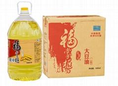 中粮福掌柜一级大豆油10L非转基因食用油