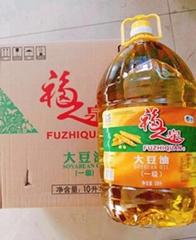 中糧福之泉一級大豆油10L食堂用油