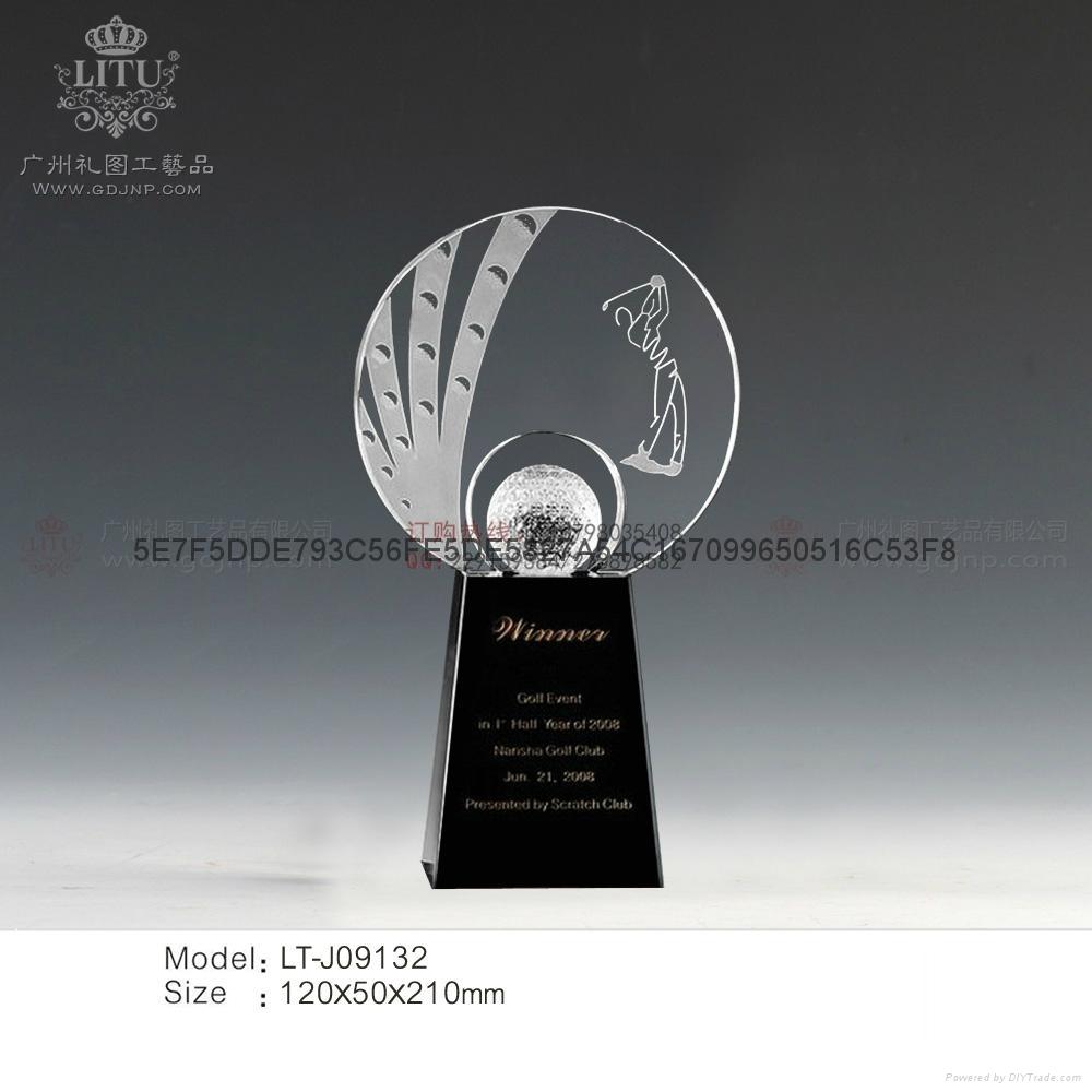 高爾夫球獎杯 1