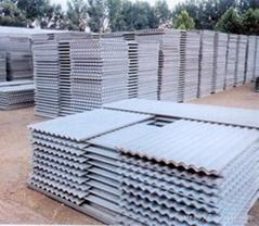 Asbestos roofing tile