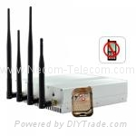 GSM&WiFi/Bluetooth Mobile Phone Jammer Model:CPJ-4010