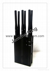 6 Antenna Signal Jammer with High Quality