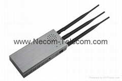 2016 Hot selling Portable Quad Bands RF Jammer 315/433/434/868MHz