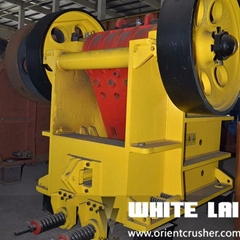 100T/H  jaw crusher