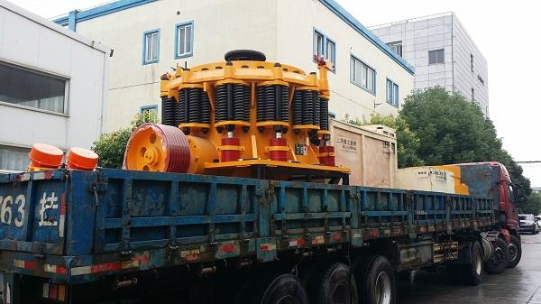 Minyu limestone crusher with simens motor 280TPH 3