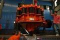Granite cone crusher 80-120T/H hydraulic cavity clean