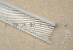 細膠針|傘用膠針(半圓形葉片)