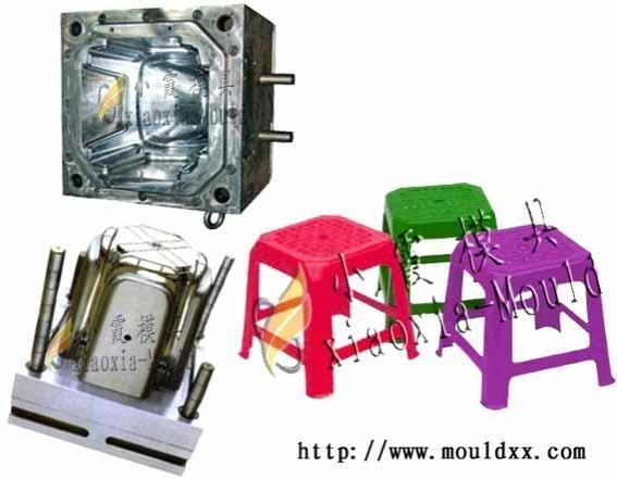 塑料凳子模具 1