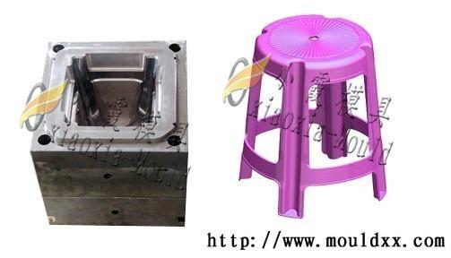 塑料凳子模具 4