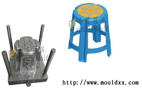 加工塑膠凳子模具 2